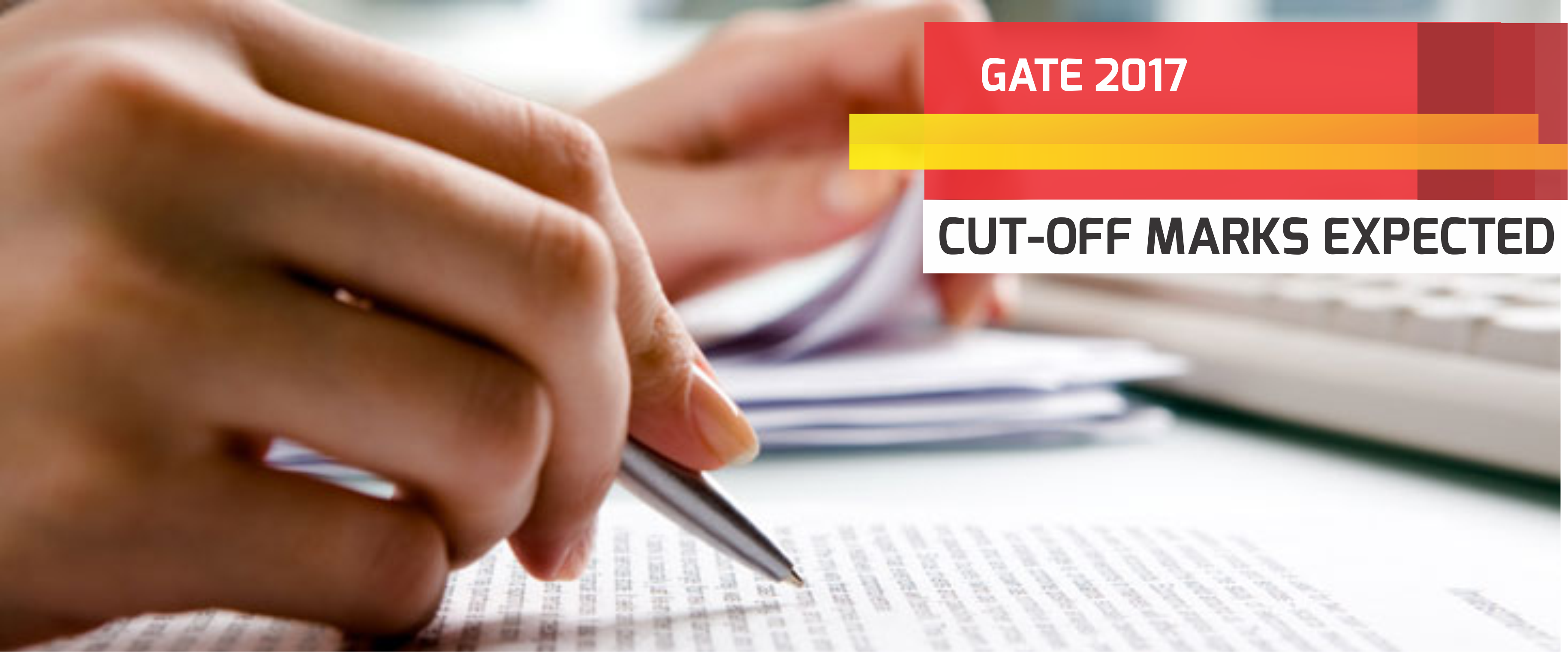GATE 2017 Cut-Off Marks (Expected)